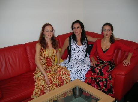 Con Las Hermanas Alcalá